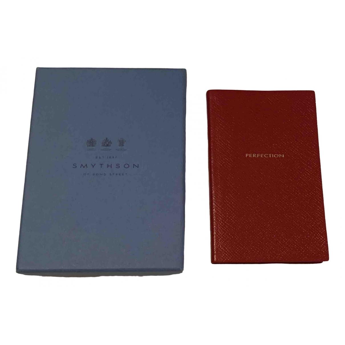 Cuaderno de Cuero Smythson