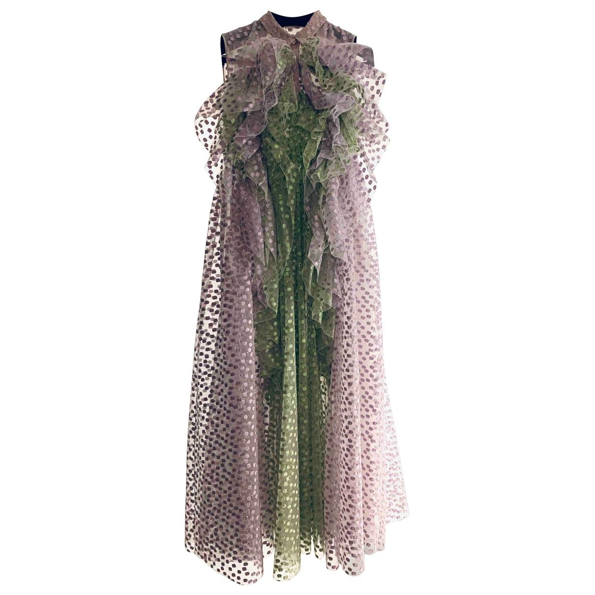 Delpozo - Robe   pour femme en soie - multicolore