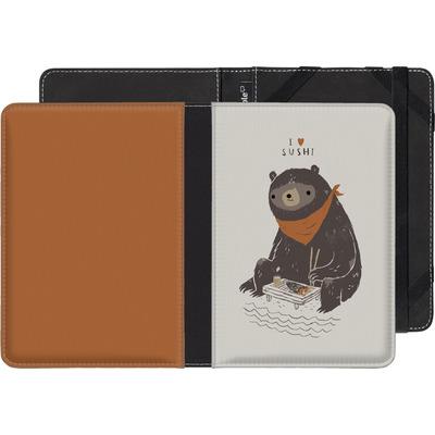 Kobo Glo eBook Reader Huelle - Sushi Bear von Louis Ros