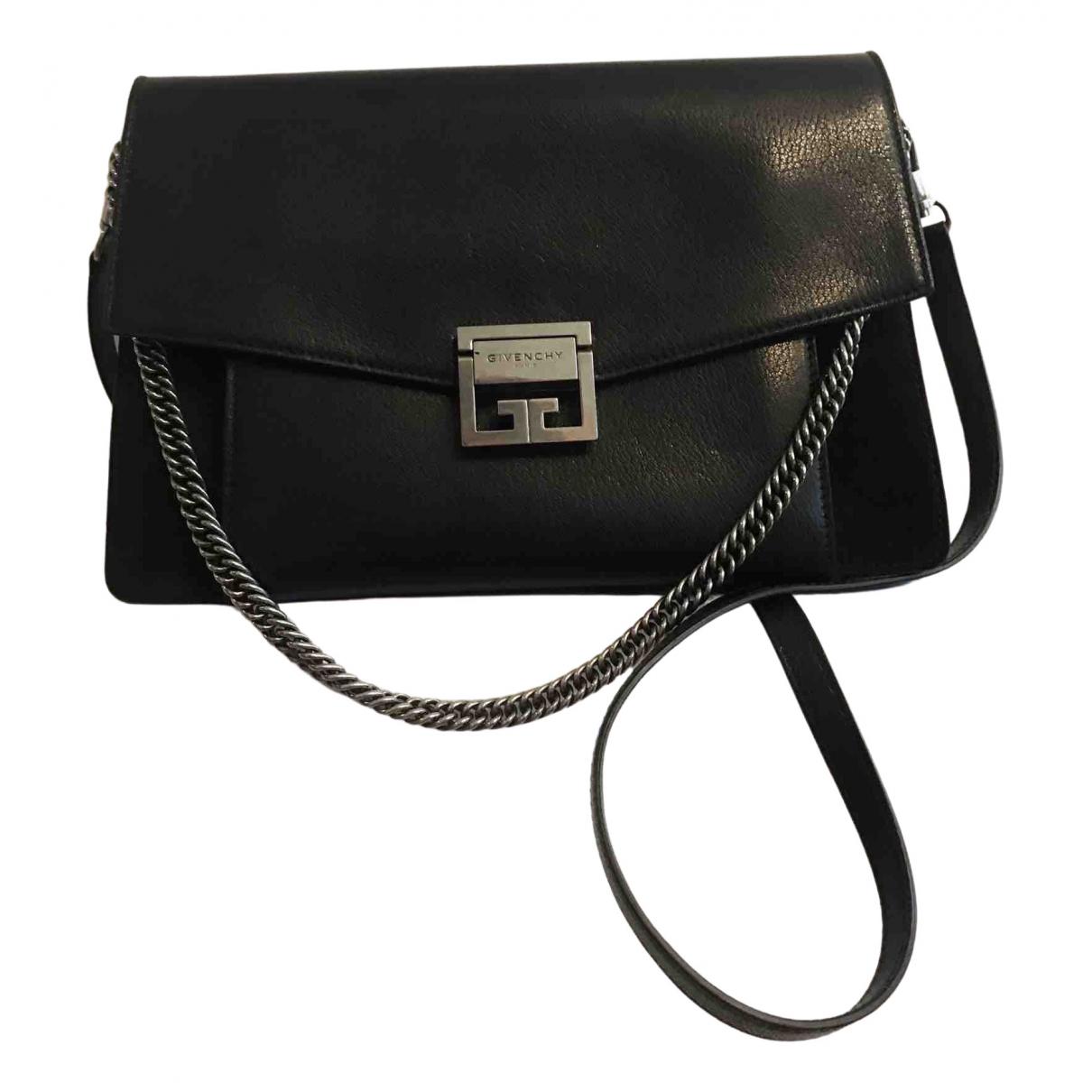 Givenchy - Sac a main GV3 pour femme en cuir - noir