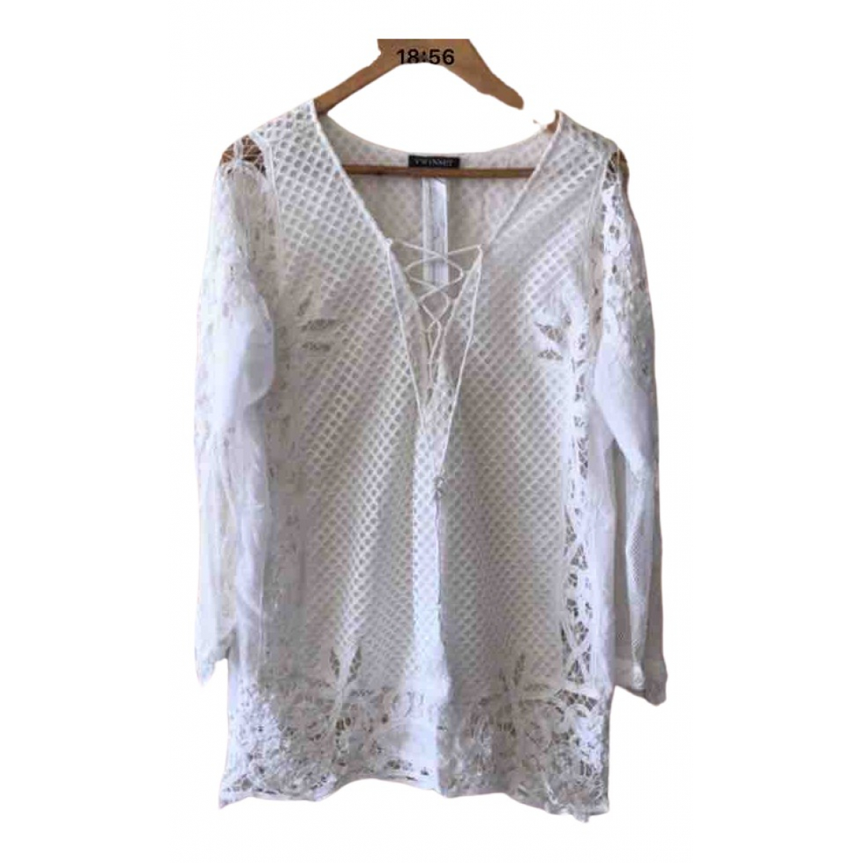 Twin Set \N White  top for Women 40 FR