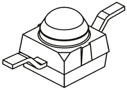 Vishay VSMB2000X01 , 940nm IR LED, Subminiature SMD package (10)