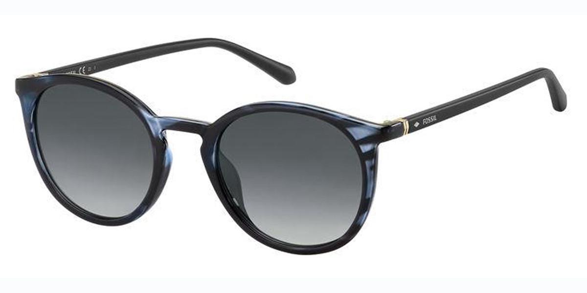 Fossil FOS 3092/S 38I/9O Men's Sunglasses Blue Size 50