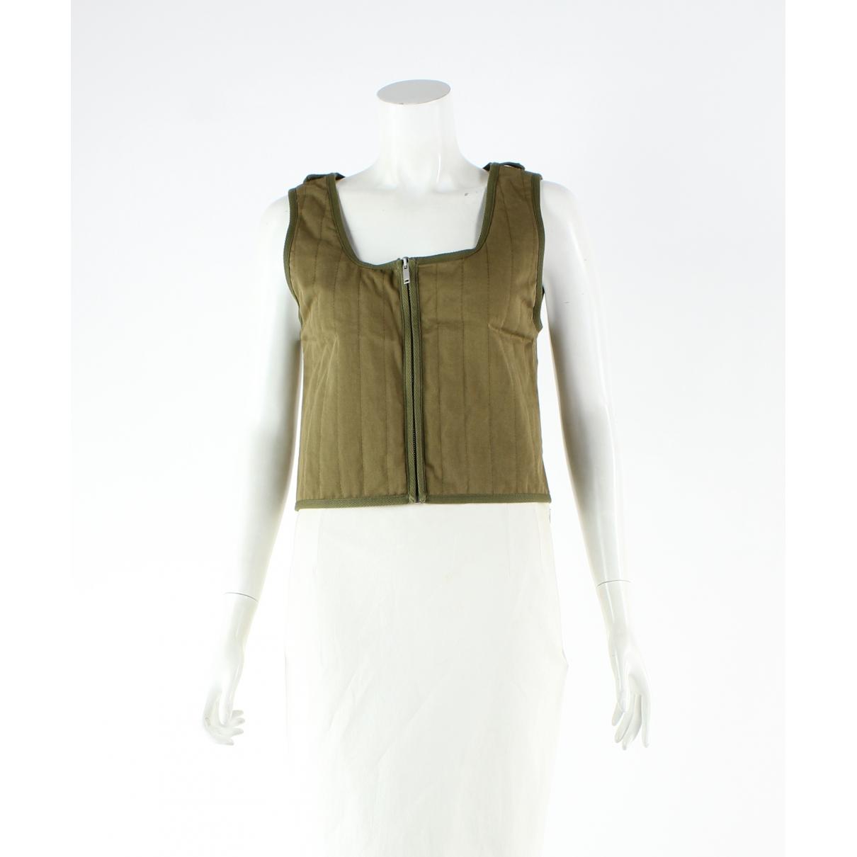 Valentino Garavani - Pull   pour femme en coton - vert