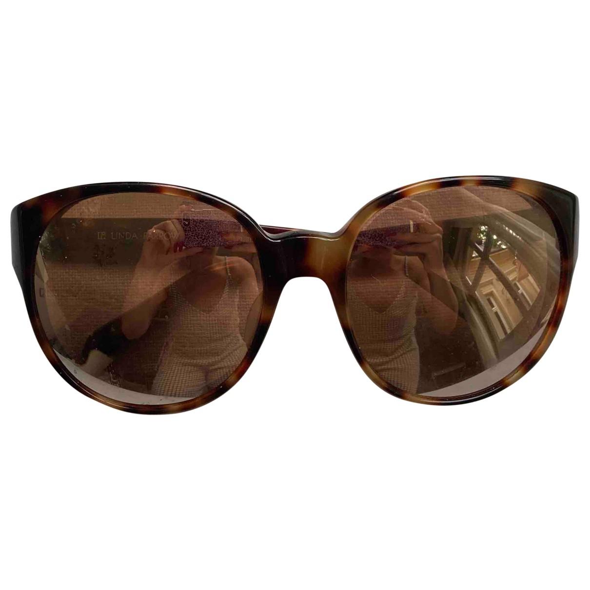 Linda Farrow N Brown Sunglasses for Women N