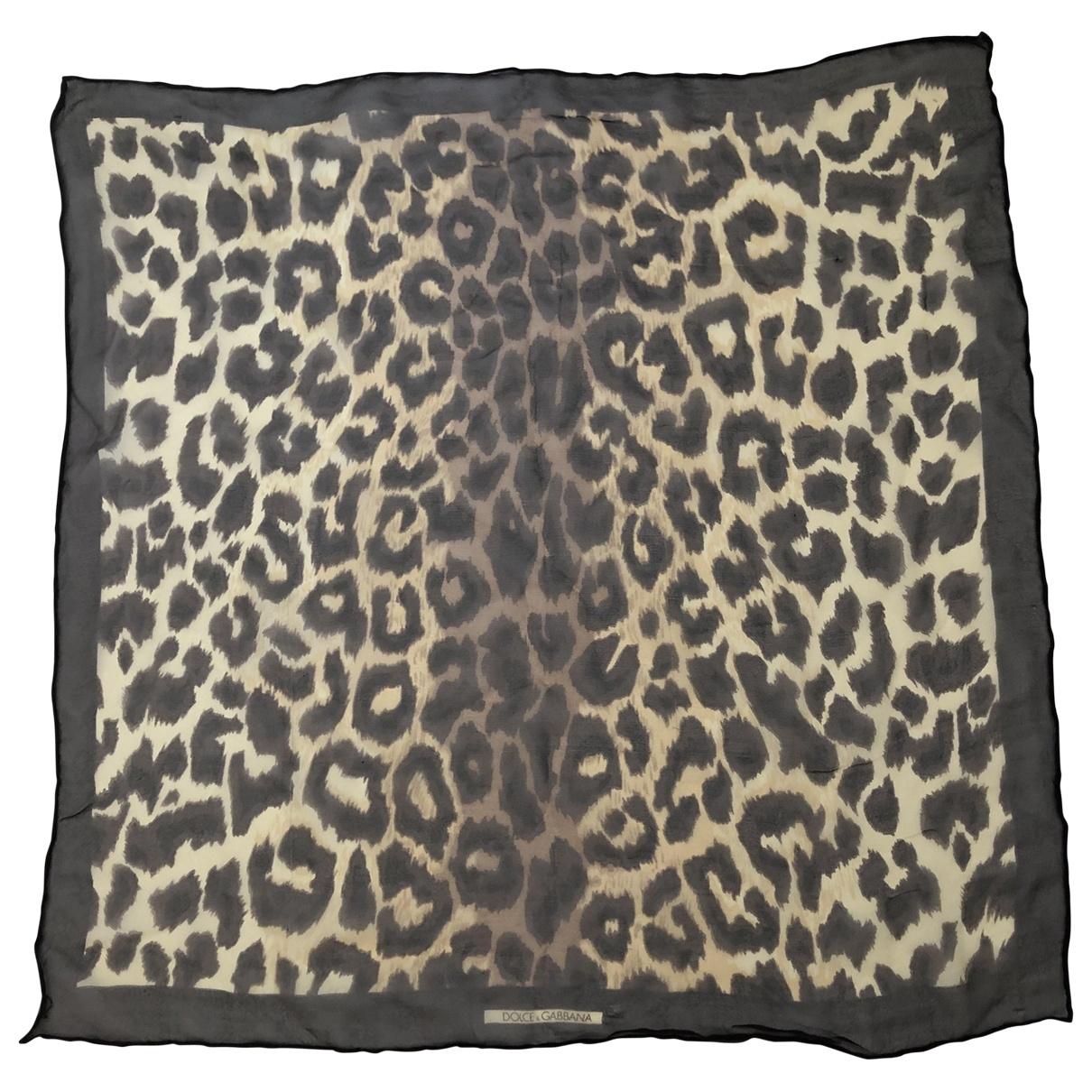 Dolce & Gabbana \N Brown Silk Silk handkerchief for Women \N