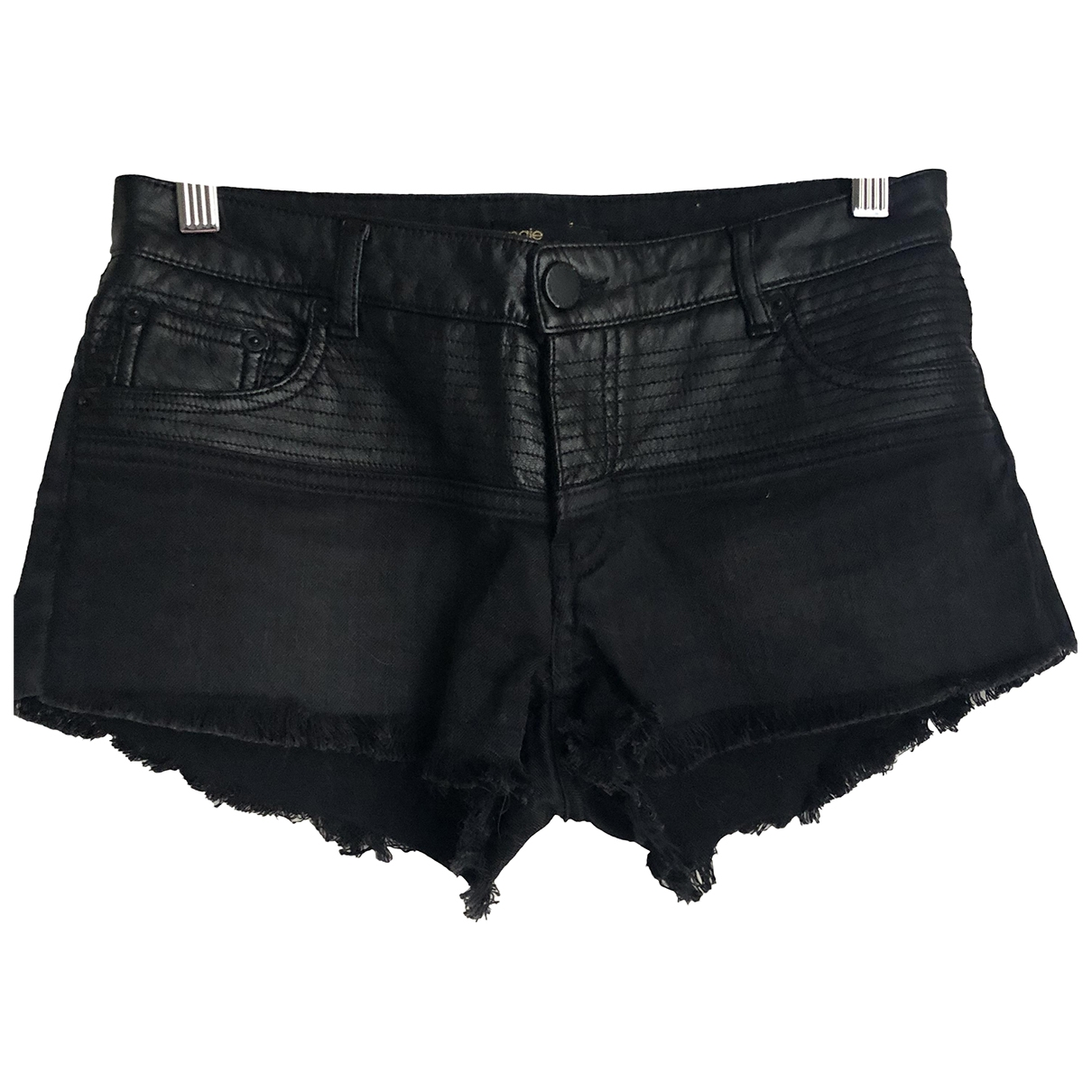 Maje \N Black Cotton Shorts for Women S International