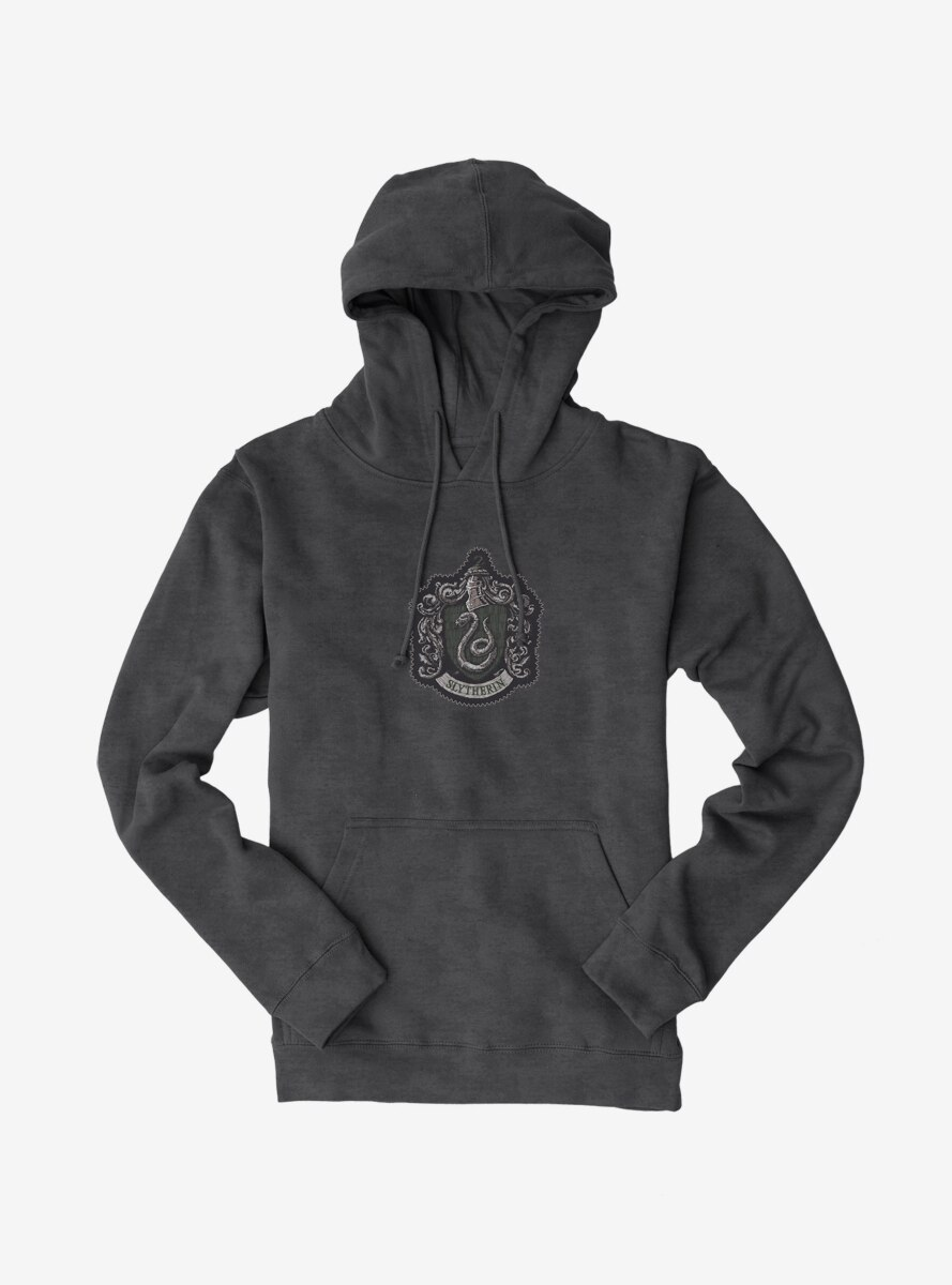 Harry Potter Slytherin Coat Of Arms Hoodie