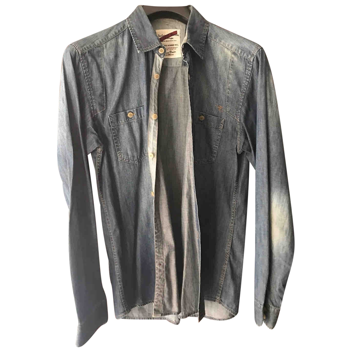 Selected \N Blue Denim - Jeans Shirts for Men L International