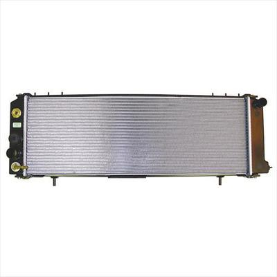 Omix-ADA Replacement 2 Core Radiator for 4.0L 4 Cylinder Engine with Automatic Transmission - 17101.18