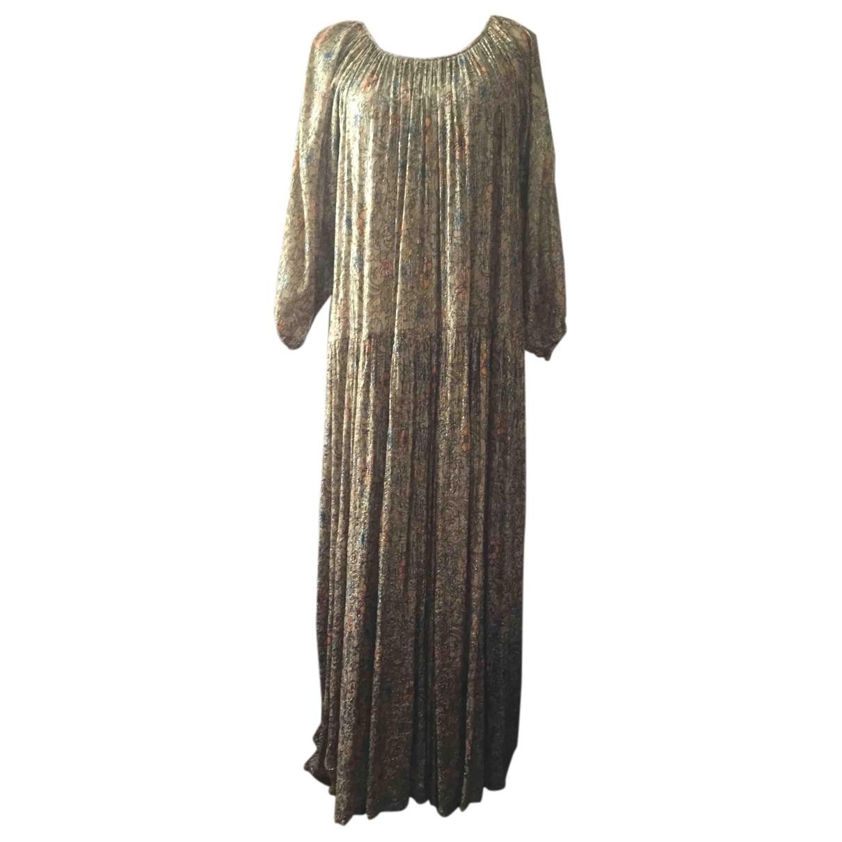 Mes Demoiselles ... \N Kleid in  Beige Baumwolle