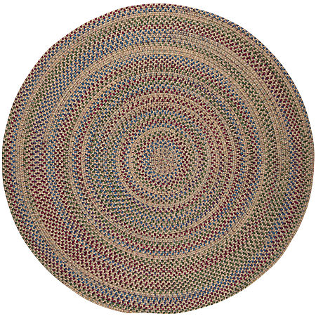 Colonial Mills Andreanna Reversible Braided Round Rug, One Size , Beige