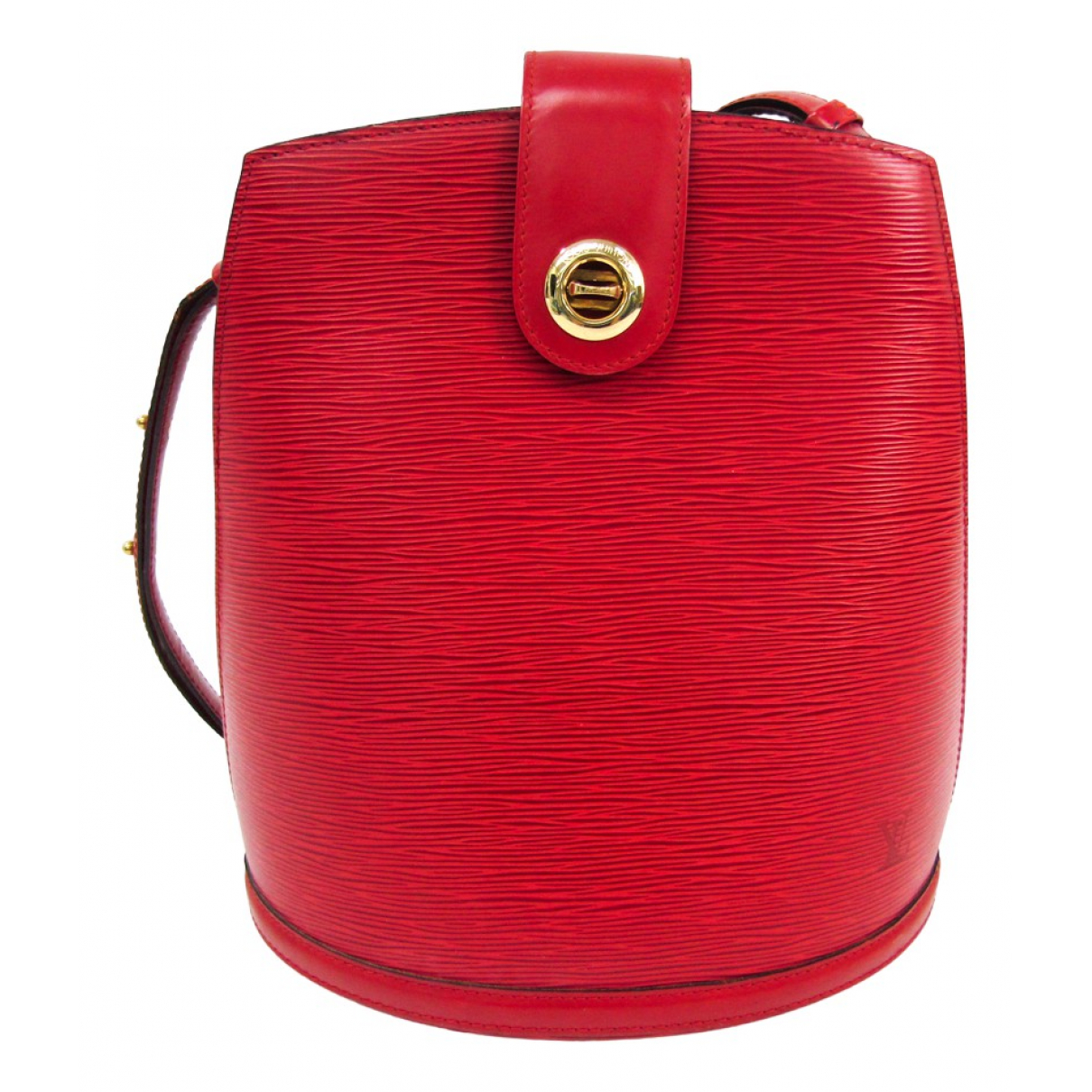 Louis Vuitton Cluny Vintage Red Leather handbag for Women \N