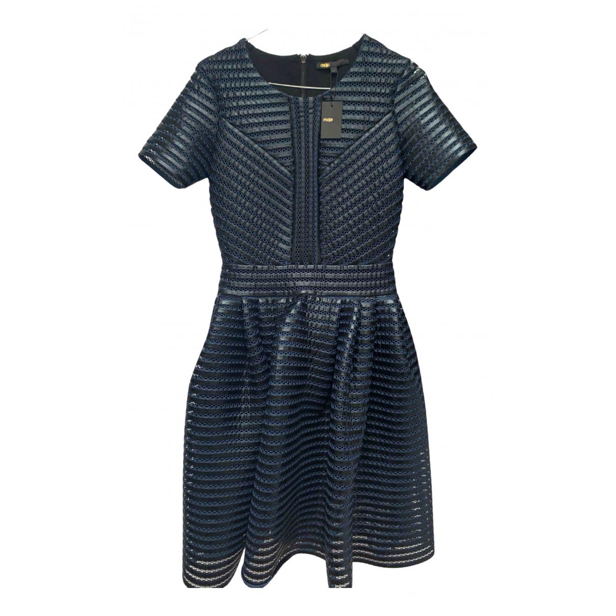 Maje N Blue dress for Women 34 FR