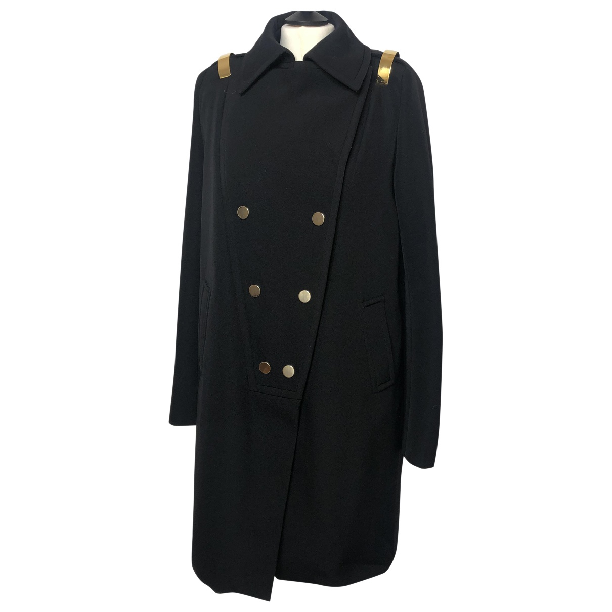Givenchy N Black Wool coat for Women 38 FR
