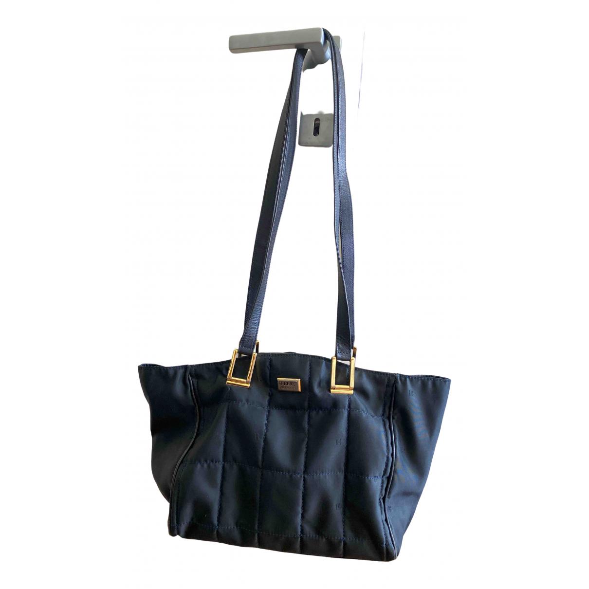 Gianfranco Ferre \N Handtasche in  Blau Polyester
