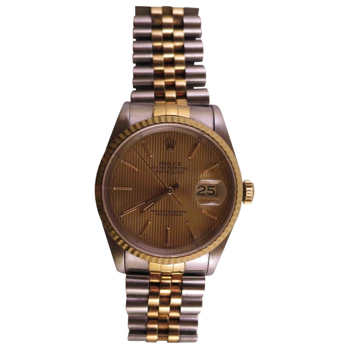 Rolex Datejust 36mm Uhr in  Bunt Gold und Stahl