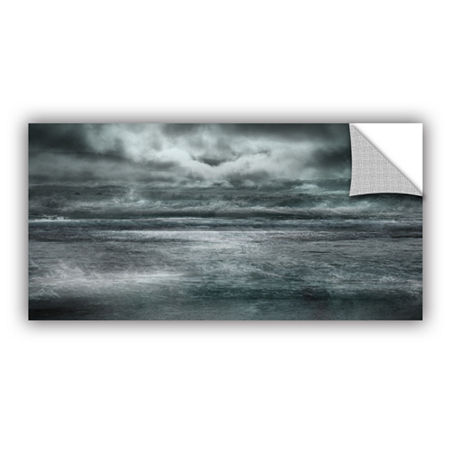 Brushstone Maelstrom Removable Wall Decal, One Size , Black