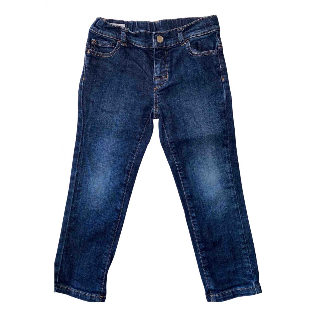 Gucci - Pantalon   pour enfant en denim - marine
