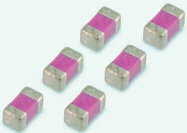 Vishay 0402 (1005M) 1nF Multilayer Ceramic Capacitor MLCC 50V dc ±10% SMD VJ0402Y102KXAAC (50)