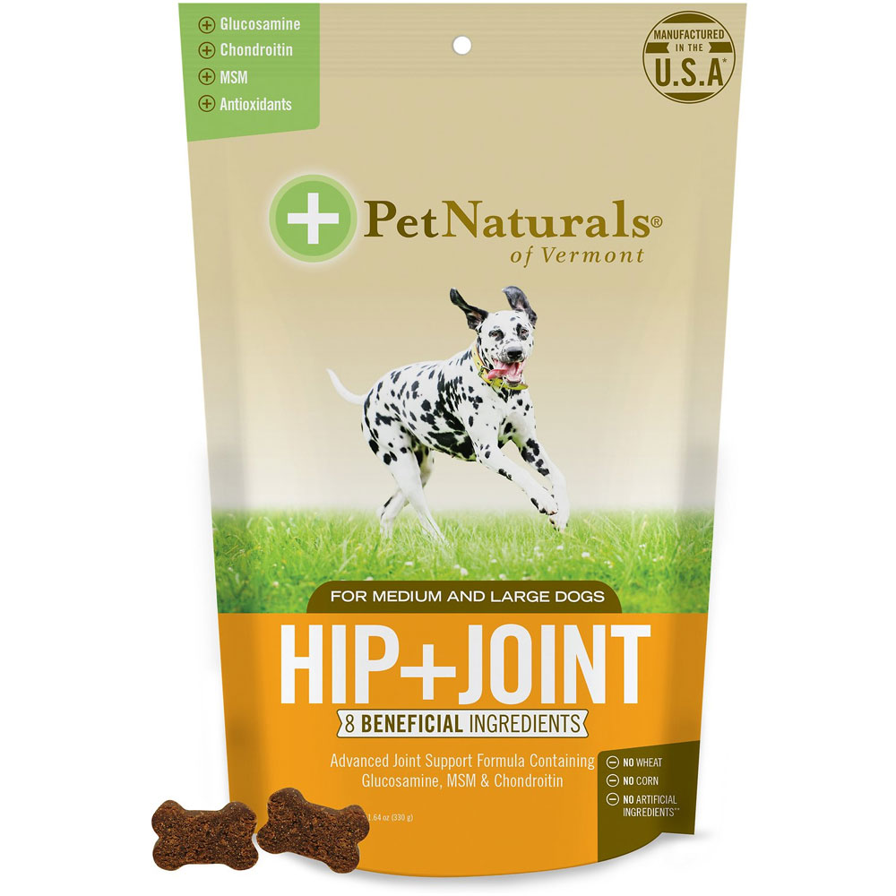 Pet Naturals Hip + Joint Medium & Large Dogs (60 Chews)