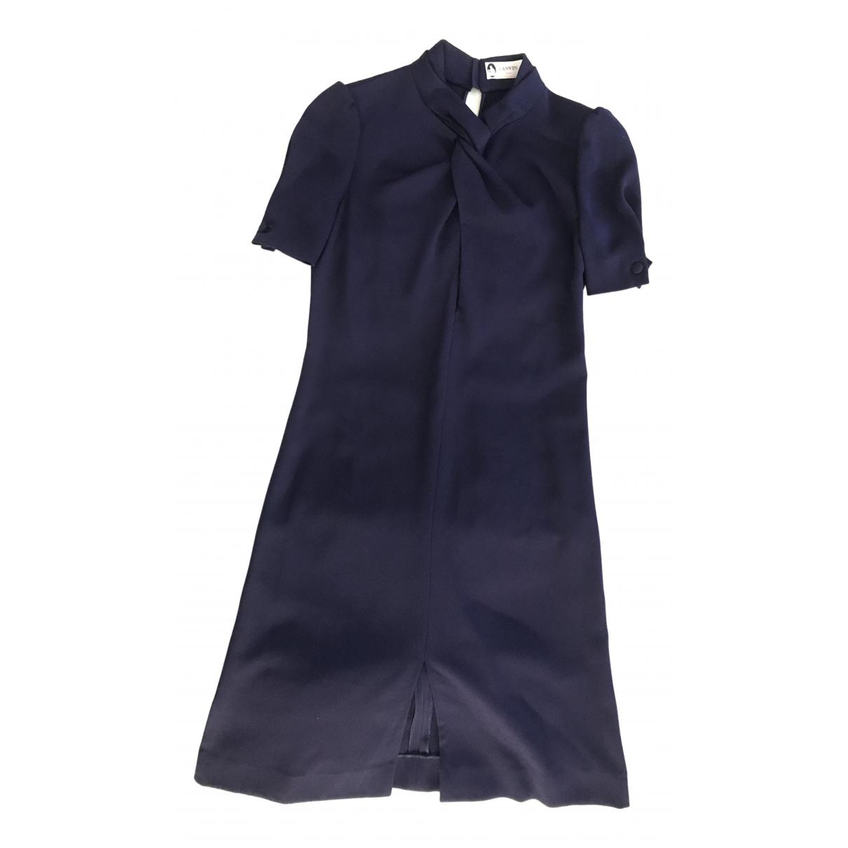 Lanvin N Blue dress for Women 36 FR