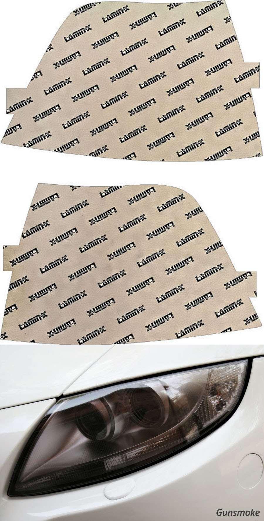 BMW 3-Series Sedan | Hatchback 92-99 Gunsmoke Turn Signal Covers Lamin-X B601-3G