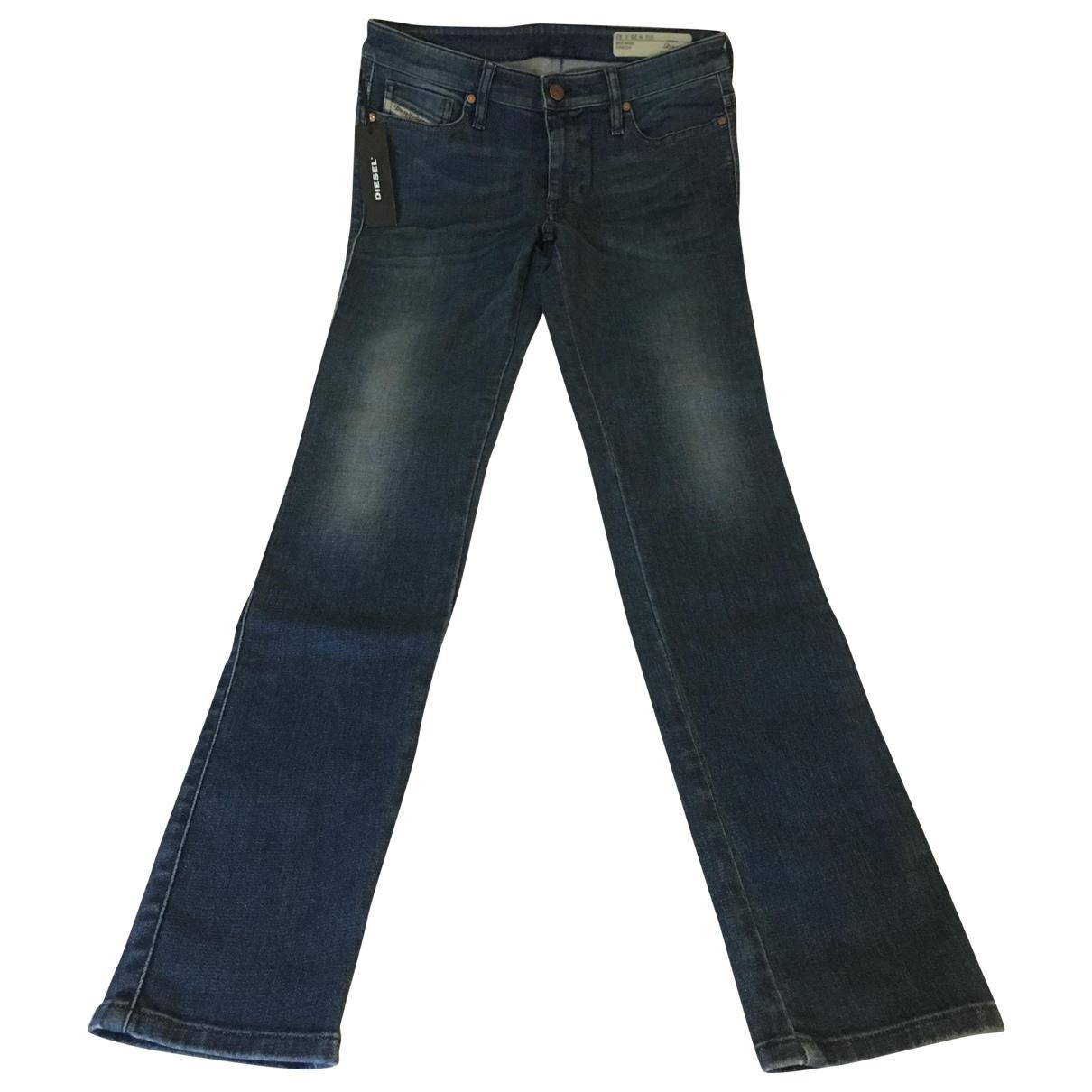 Diesel \N Blue Cotton Jeans for Women 29 US