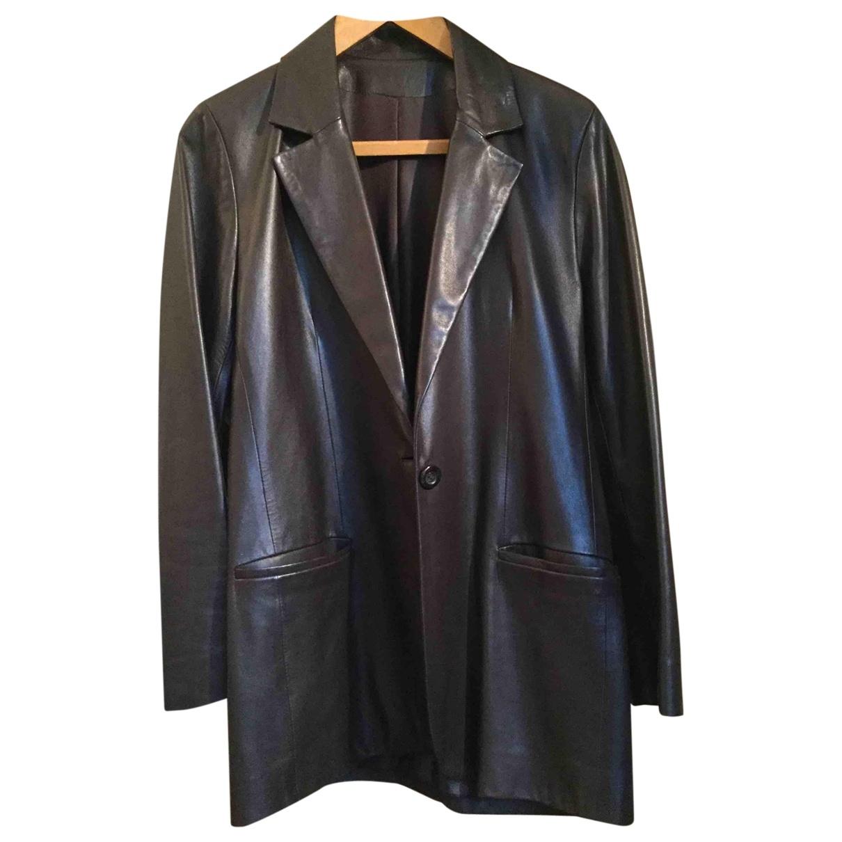 Mac Douglas \N Brown Leather jacket for Women 38 FR