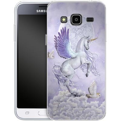 Samsung Galaxy J3 (2016) Silikon Handyhuelle - Moonshine von Selina Fenech