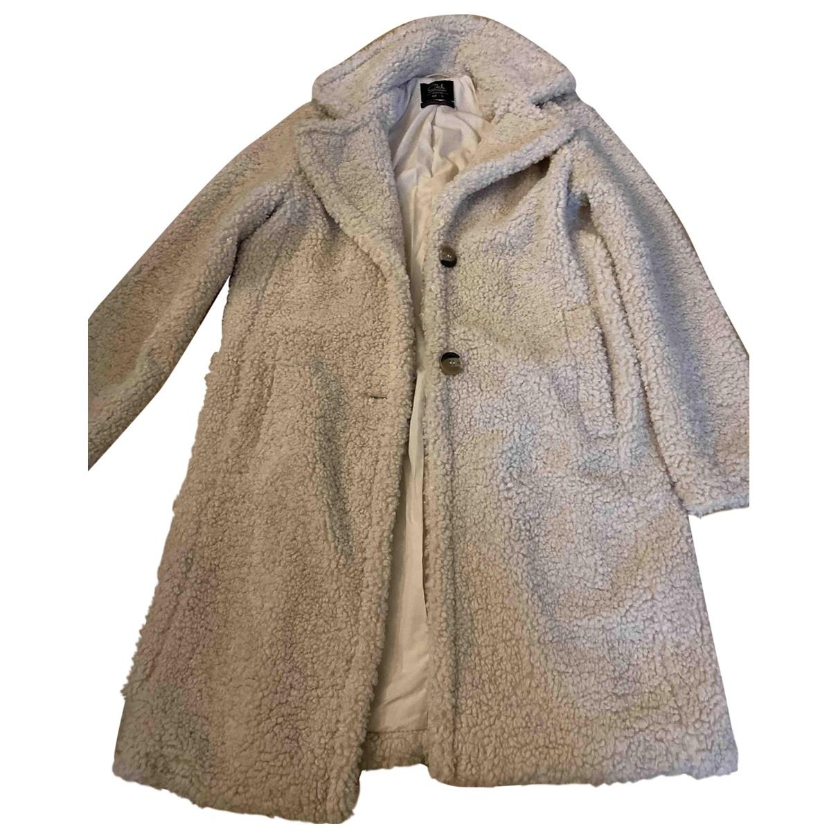 Non Signé / Unsigned \N White coat for Women 36 FR