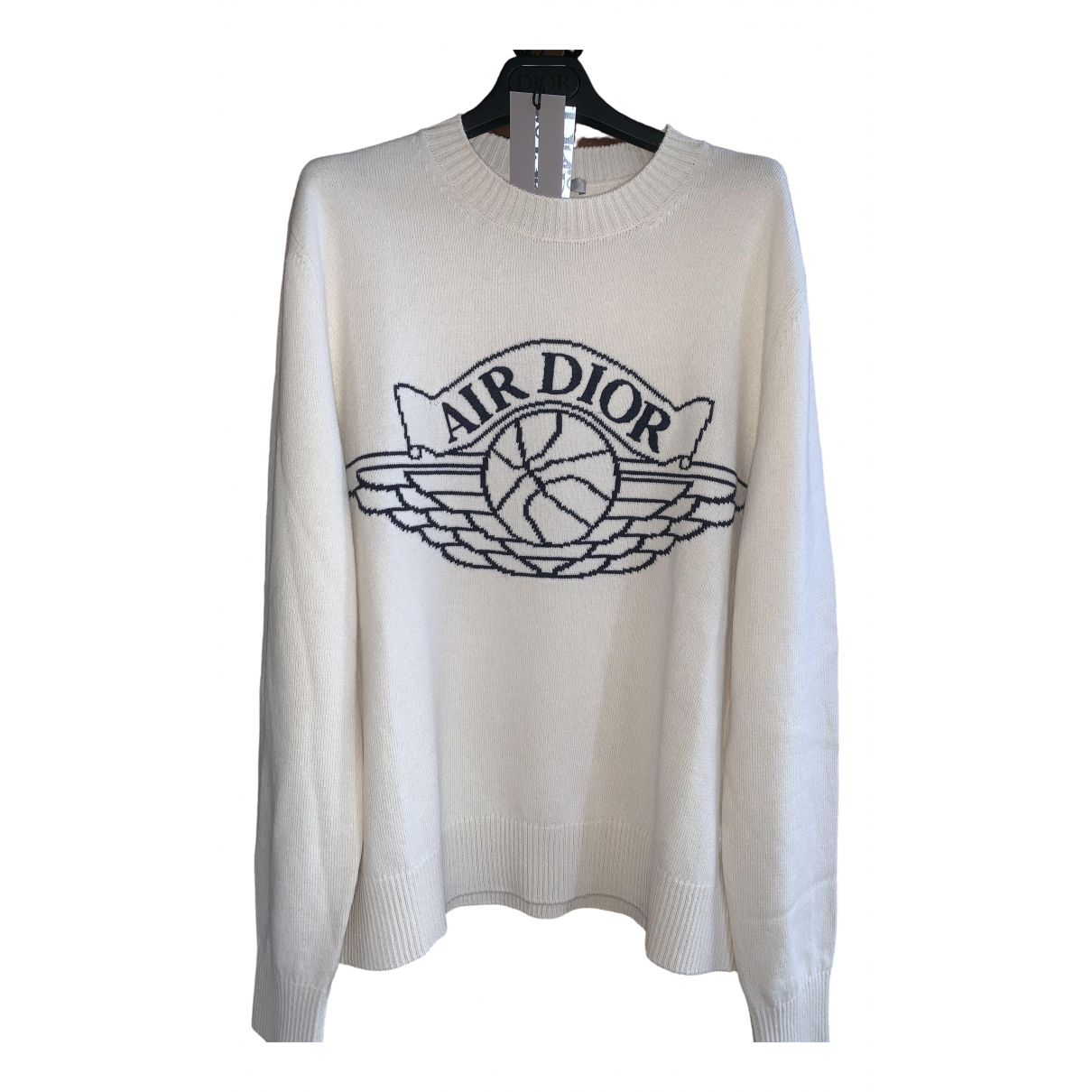 Jordan X Dior \N Pullover.Westen.Sweatshirts  in  Beige Kaschmir