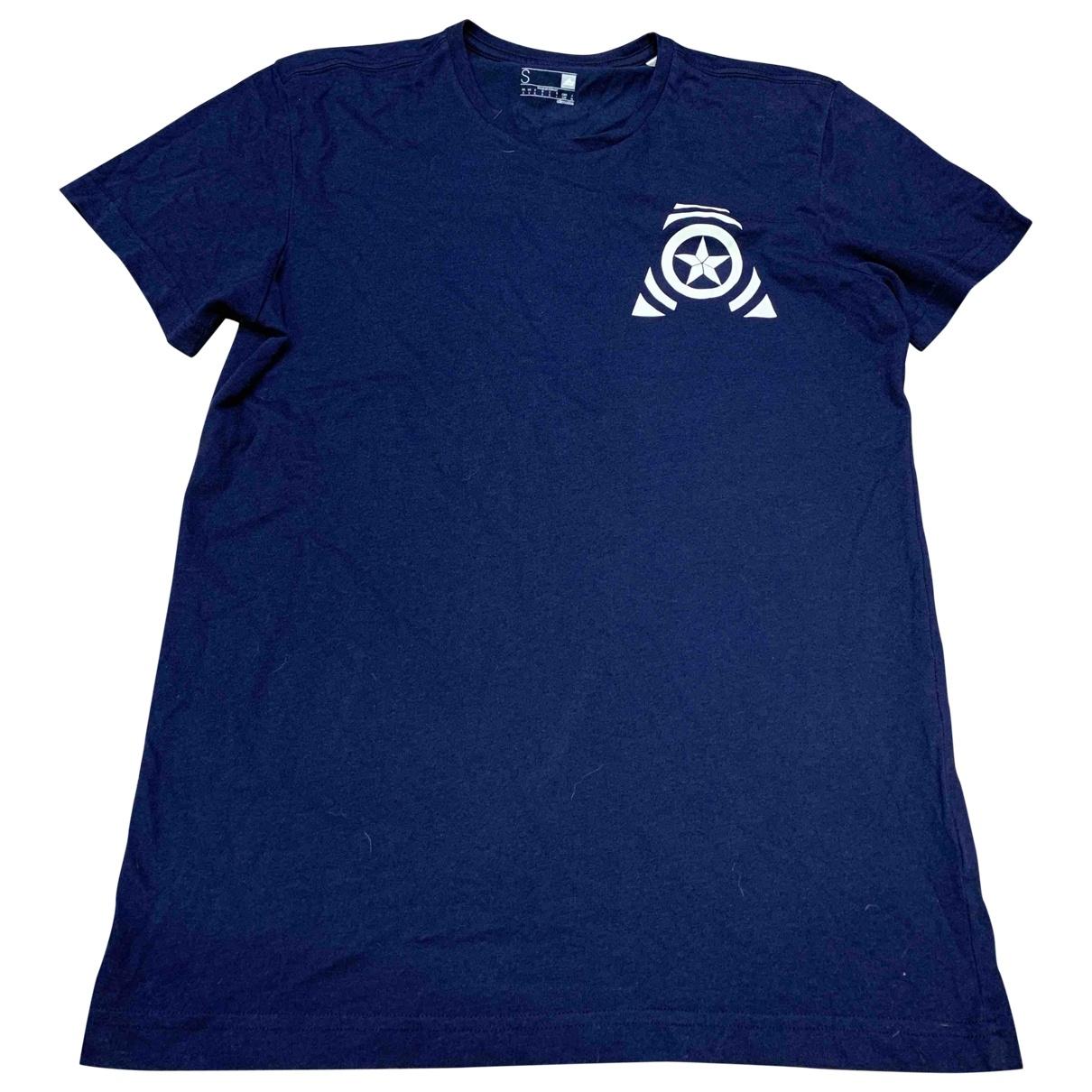 Adidas \N T-Shirts in  Blau Baumwolle