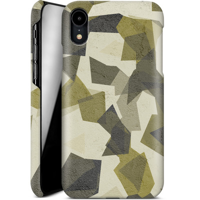 Apple iPhone XR Smartphone Huelle - Geometric Camo Green von caseable Designs
