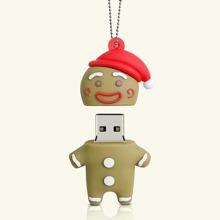Weihnachten USB Stick mit Lebkuchenmann Design