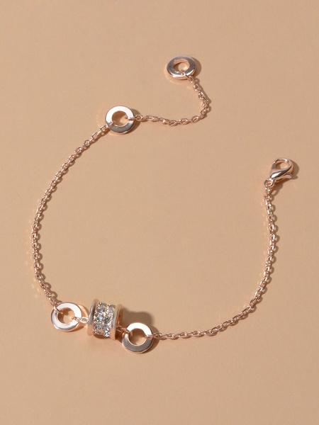 Milanoo Bracelet For Woman Blond Metal Jelly Bracelets