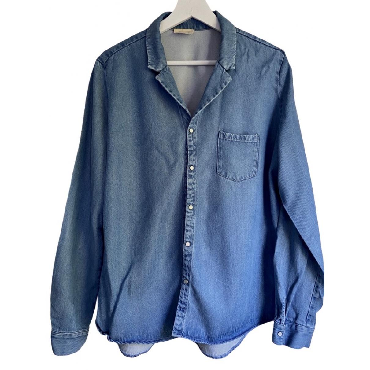 American Vintage - Blouson   pour femme en denim - bleu