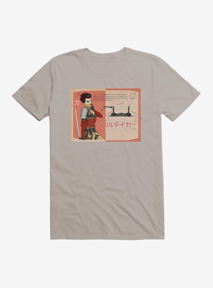 DC Comics Bombshells Katana Card T-Shirt