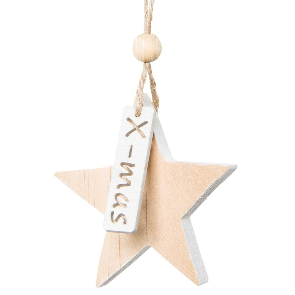 Weihnachtliche Haengedeko Stern