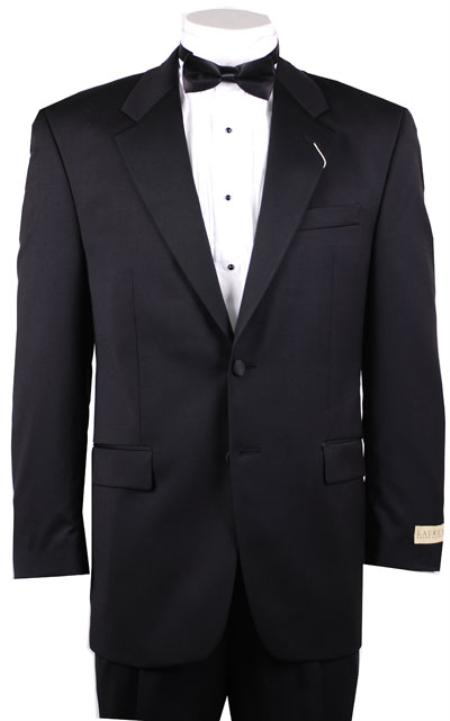 Mens 42737 Buttons Black Tuxedo Blazer / Jacket