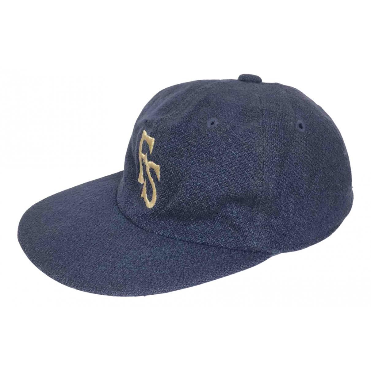 45rpm - Chapeau & Bonnets   pour homme en laine - bleu