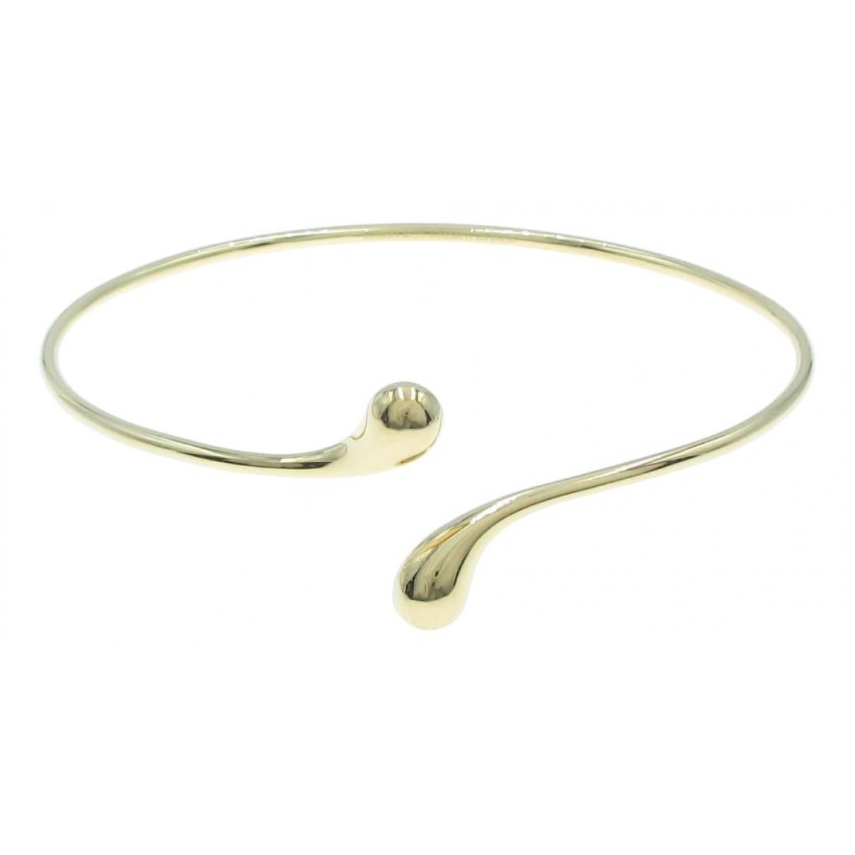 Tiffany & Co \N Silver Yellow gold bracelet for Women \N