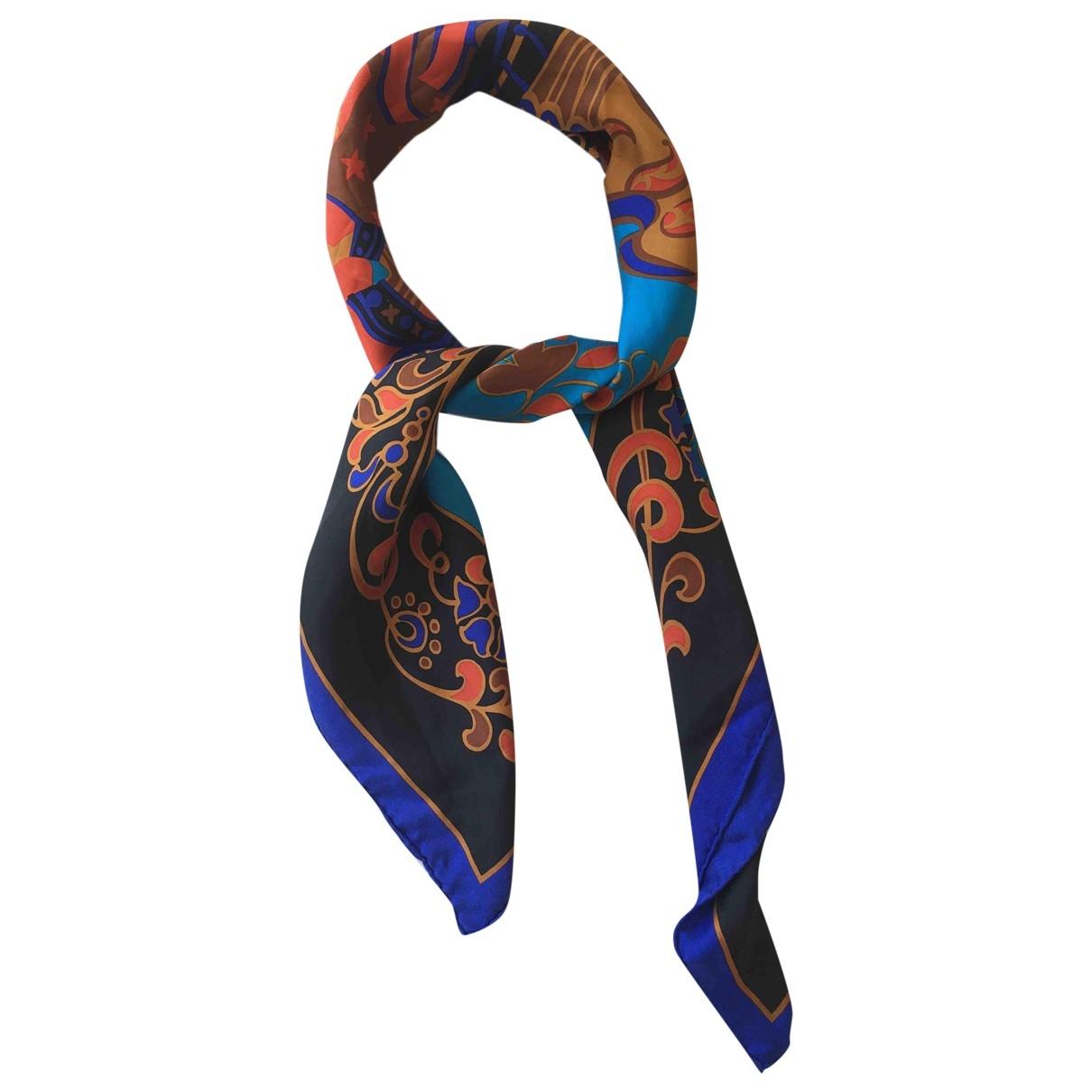 Yves Saint Laurent - Carre   pour femme en soie - multicolore