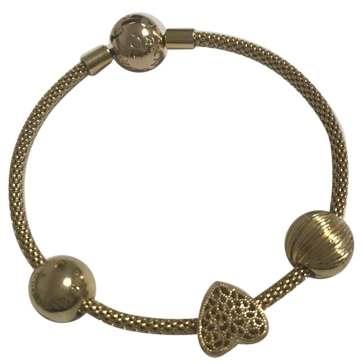Pandora \N Armband in  Gold Vergoldet