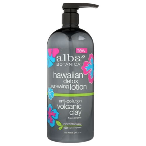 Hawaiian Detox Renewing Lotion 32 Oz by Alba Botanica