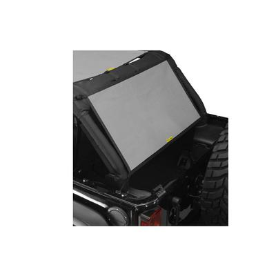 DirtyDog 4x4 Rear Sun Screen (Gray) - J4SS07C1GY