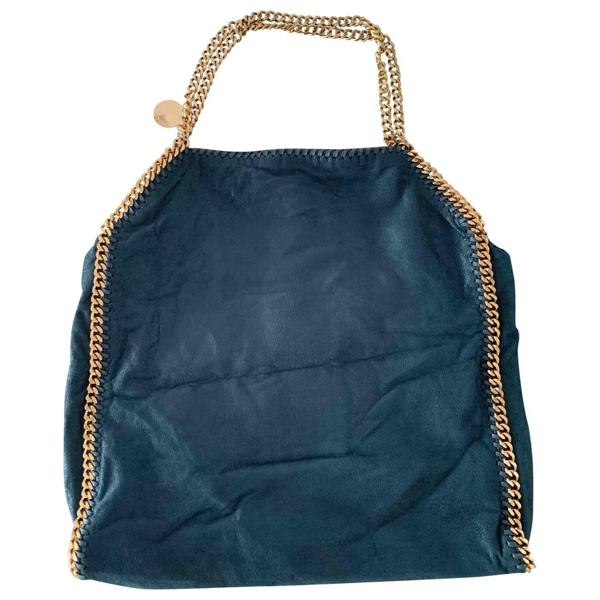 Stella Mccartney Falabella Green Cloth handbag for Women \N