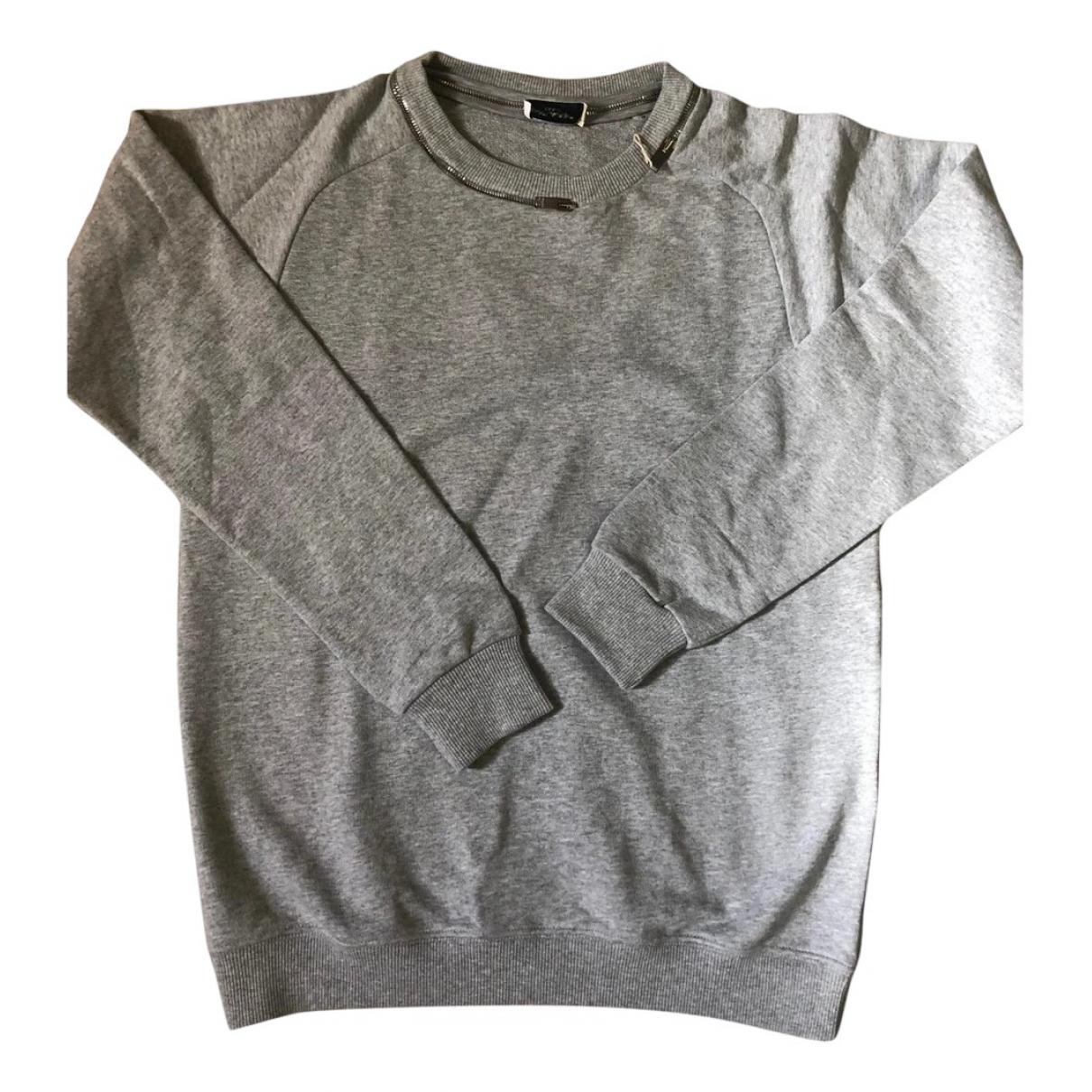 Saint Laurent \N Grey Cotton Knitwear & Sweatshirts for Men XS International