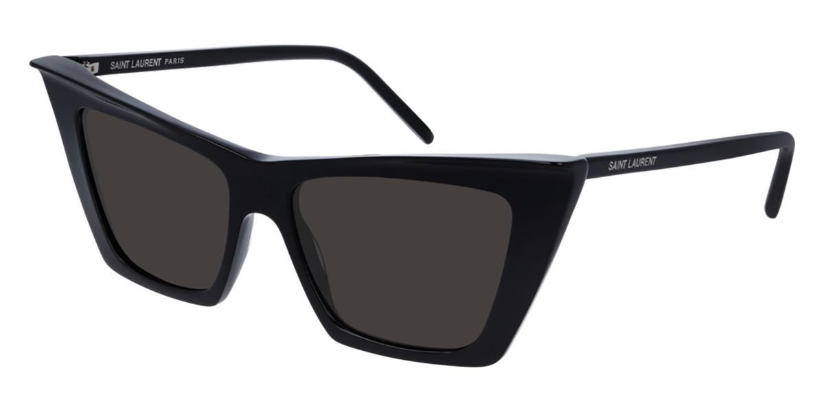 Saint Laurent SL 372 001 Men's Sunglasses Black Size 54 - Free RX Lenses