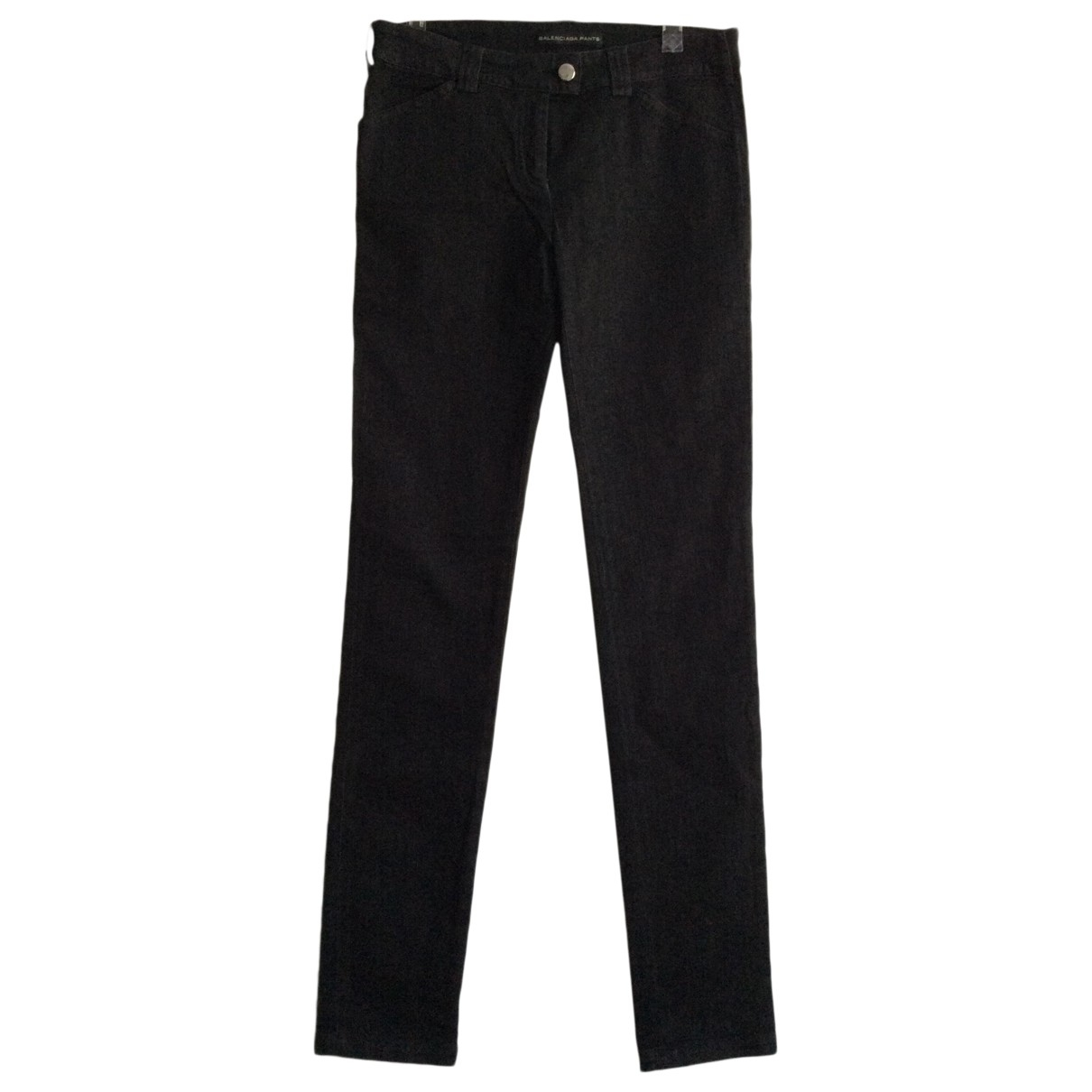Balenciaga \N Jeans in  Schwarz Denim - Jeans